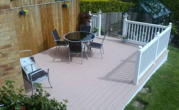 DECKING WEST YORKSHIRE REDWOOD