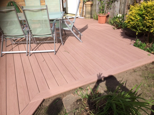 redwood decking york