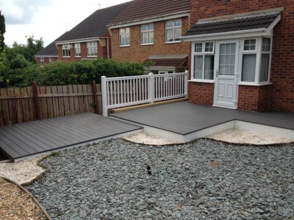composite grey decking