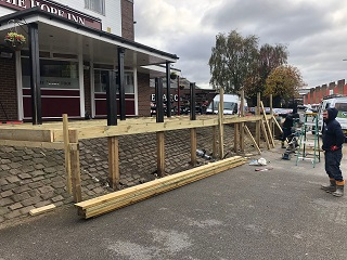 Pub Decking Yorkshire Installation Process