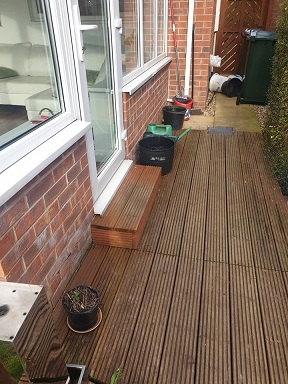 South Yorkshire Decking Picture