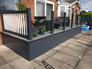 Yorkshire summer decking 2020